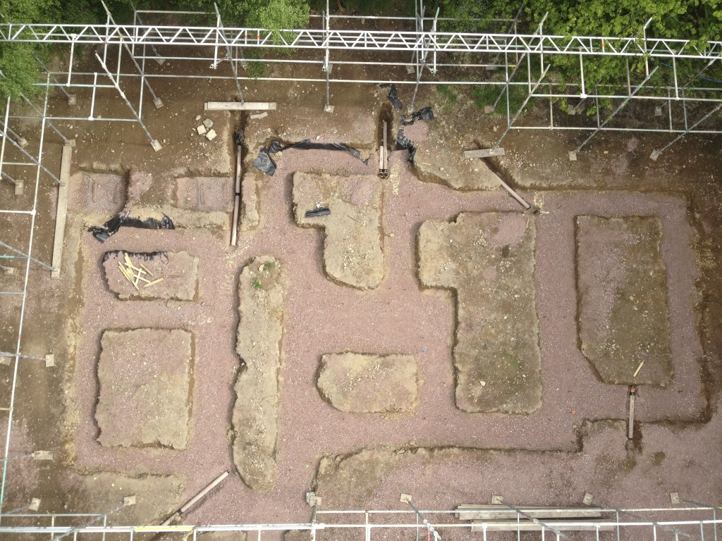Foundations from above